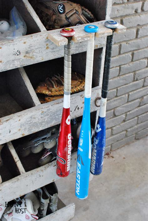 Make Your Own Baseball Bat Holder