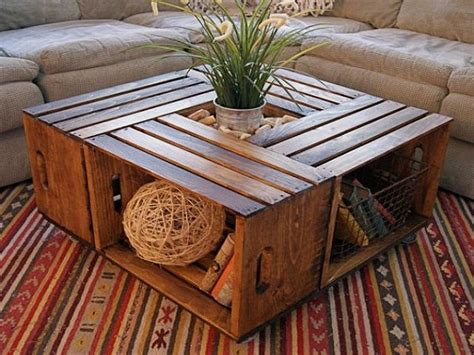 Make Your Own Coffee Table Plans