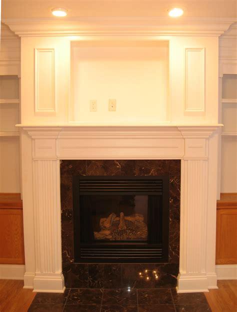 Make Your Own Fireplace Mantel Surround