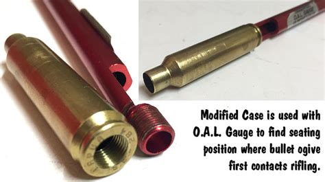 Make Your Own Modified Case For Hornady O A L Gauge .