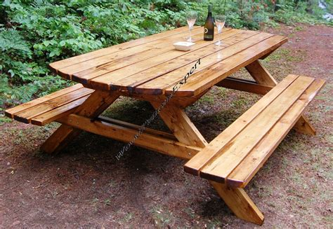 Make Your Own Picnic Table Plans