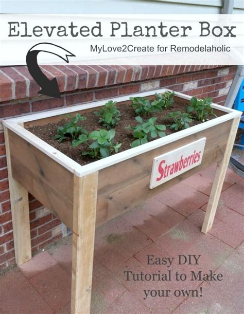 Make-Your-Own-Planter-Box-Plans