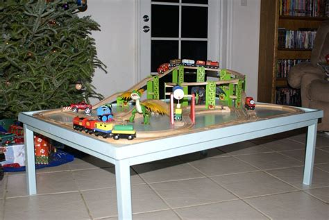 Make-Your-Own-Train-Table-Plans