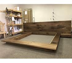 Best Make a bed frame platform