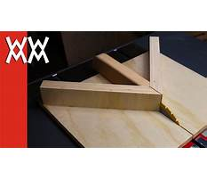 Best Make a miter sled for your table saw improved version