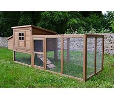 Best Make a rabbit hutch and run