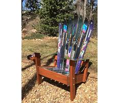 Best Make adirondack chair from skis