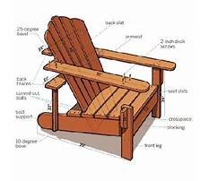 Best Make an adirondack chair for your home this summer limited tools woodworking project