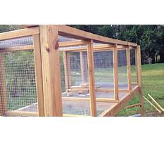 Best Make your own outdoor rabbit cage