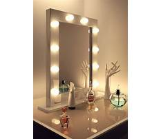Best Makeup dresser with mirror and lights
