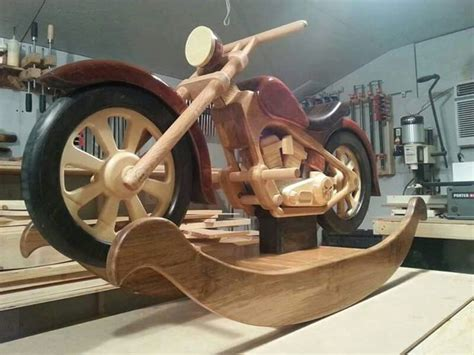 Making A Full Size Wooden Motorcycle Plans