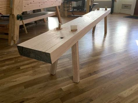 Making A Roman Woodworking Bench