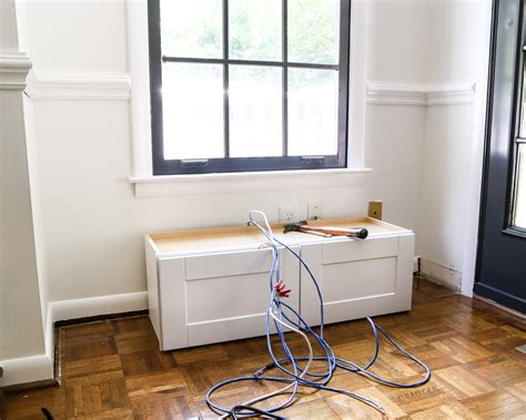 Making A Window Seat Out Of Cabinets