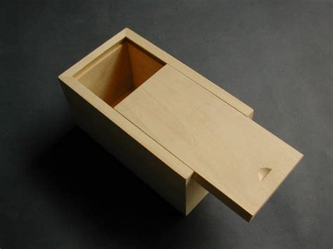 Making A Wooden Box With Sliding Lid