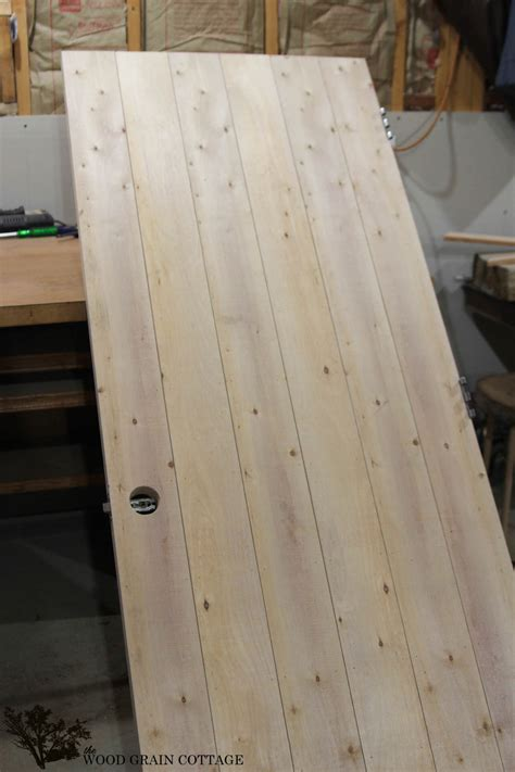 Making A Wooden Plank Door