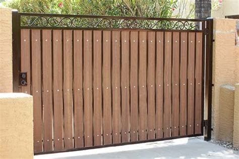 Making A Wrought Iron Gate Private