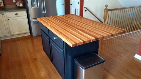 Making Butcher Block Island Top