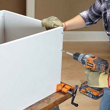 Making Closet Shelves With Melamine Dinnerware