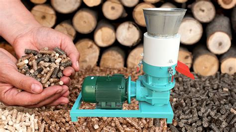 Making Homemade Wood Pellets