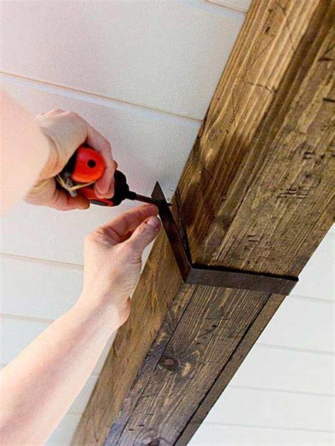 Making Rustic Wood Beams Diy Network