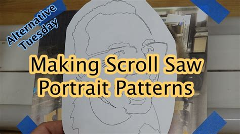 Making Scroll Saw Patterns From Photos