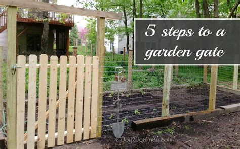 Making Simple Garden Gates