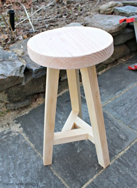 Making Three Legged Stool