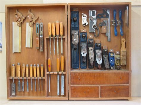 Making Woodworking Tool Storage