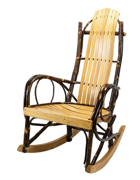 Making rocking chairs out of hickory Image