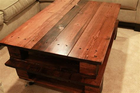 Making-A-Table-Out-Of-Pallet-Diy
