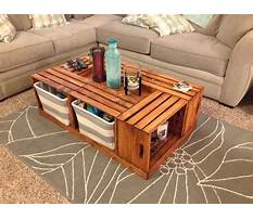 Best Making a coffee table from crates