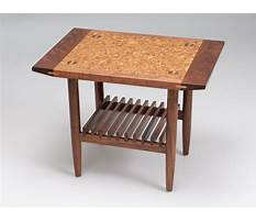 Best Making a sam maloof inspired coffee table