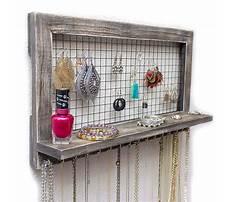 Best Making a wall mounted jewelry box