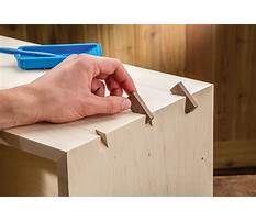 Best Making box joints with a router