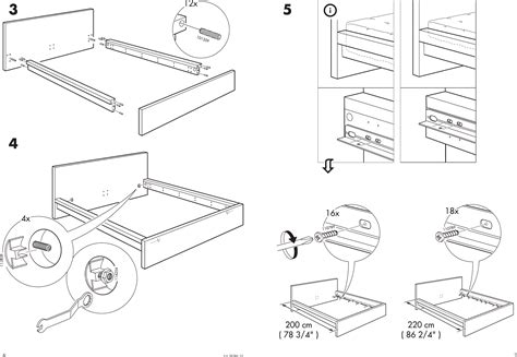Malm Bed Building Instructions