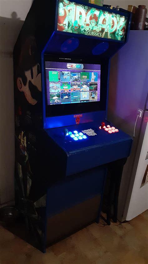 Mame-Arcade-Cabinet-Diy