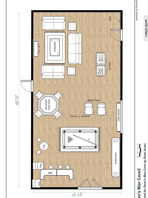 Man-Cave-Shed-Floor-Plans