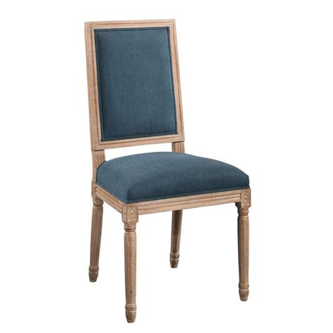 Manlius Vintage Rectangle Back Upholstered Dining Chair