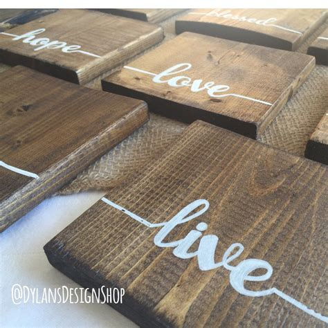 Manly Coasters Wood Diy Crafts