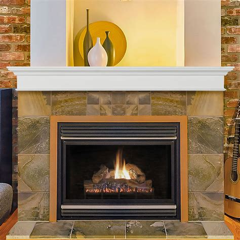 Mantel Surround Plans With Cabinets