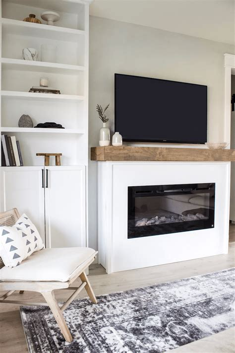 Mantel With Storage Diy Room
