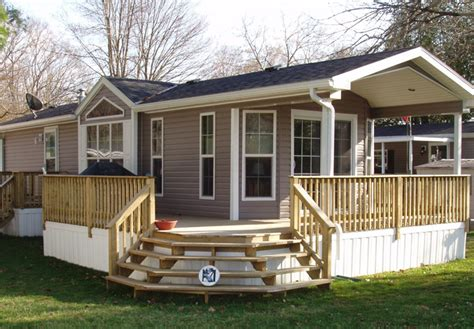 Manufactured Home Deck Plans