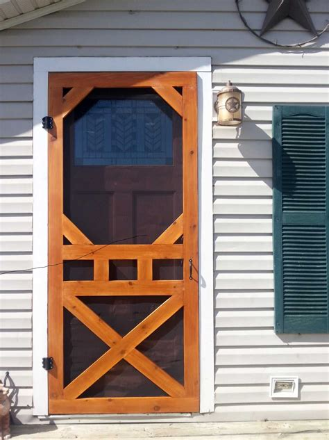 Manufactured Home Screen Door Diy