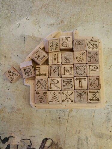 Maple Wood Diy Alphabet Blocks