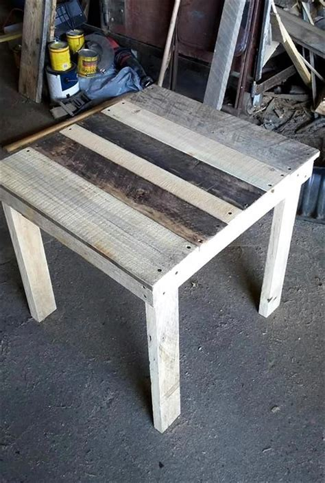 Marble End Table Diy Pallet
