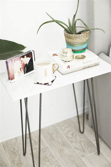 Marble Side Table Diy