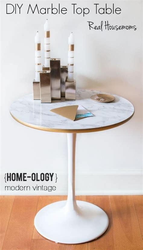 Marble-Top-Dining-Table-Diy