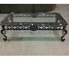 Best Marble coffee tables with iron legs