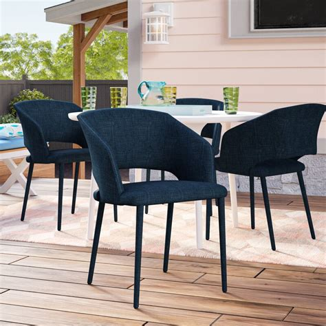 Mariann Patio Dining Chair With Cushion By Ivy Bronx