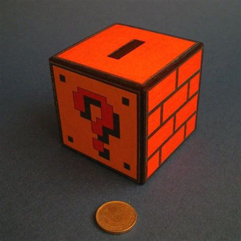 Mario Coin Box Diy Crafts